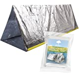 BRAMBLE! Emergency Thermal Tent for Survival, Emergency, Camping, Bushcraft or Hiking Situations. Shelter against rain, cold, storm, wind and hypothermia