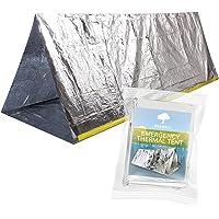 Tienda de Campaña Térmica de Emergencia para Supervivencia - Carpa de Refugio Desplegable Impermeable y Reutilizable…