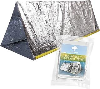 Bramble Tente de réfléchissant Thermique abri d'urgence pour Le Camping, la Survie et la randonnée. Protection Contre la Pluie, Le Froid, la tempête, Le Vent et l'hypothermie la tempête Le Vent et l'hypothermie