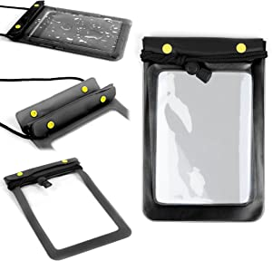 DURAGADGET Multi-Purpose Water-Resistant Tablet Pouch Case in Black - Compatible with The Acer Iconia One 8 B1-850 Tablet