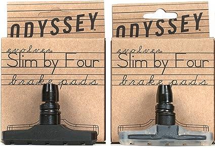 Black Odyssey BMX Slim By Four Brake Pads