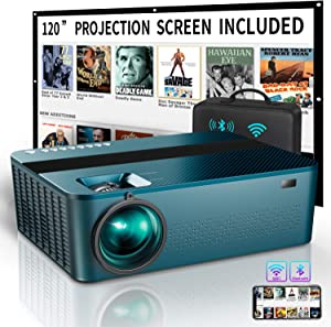 WIFI Native 1080P Projector with 120