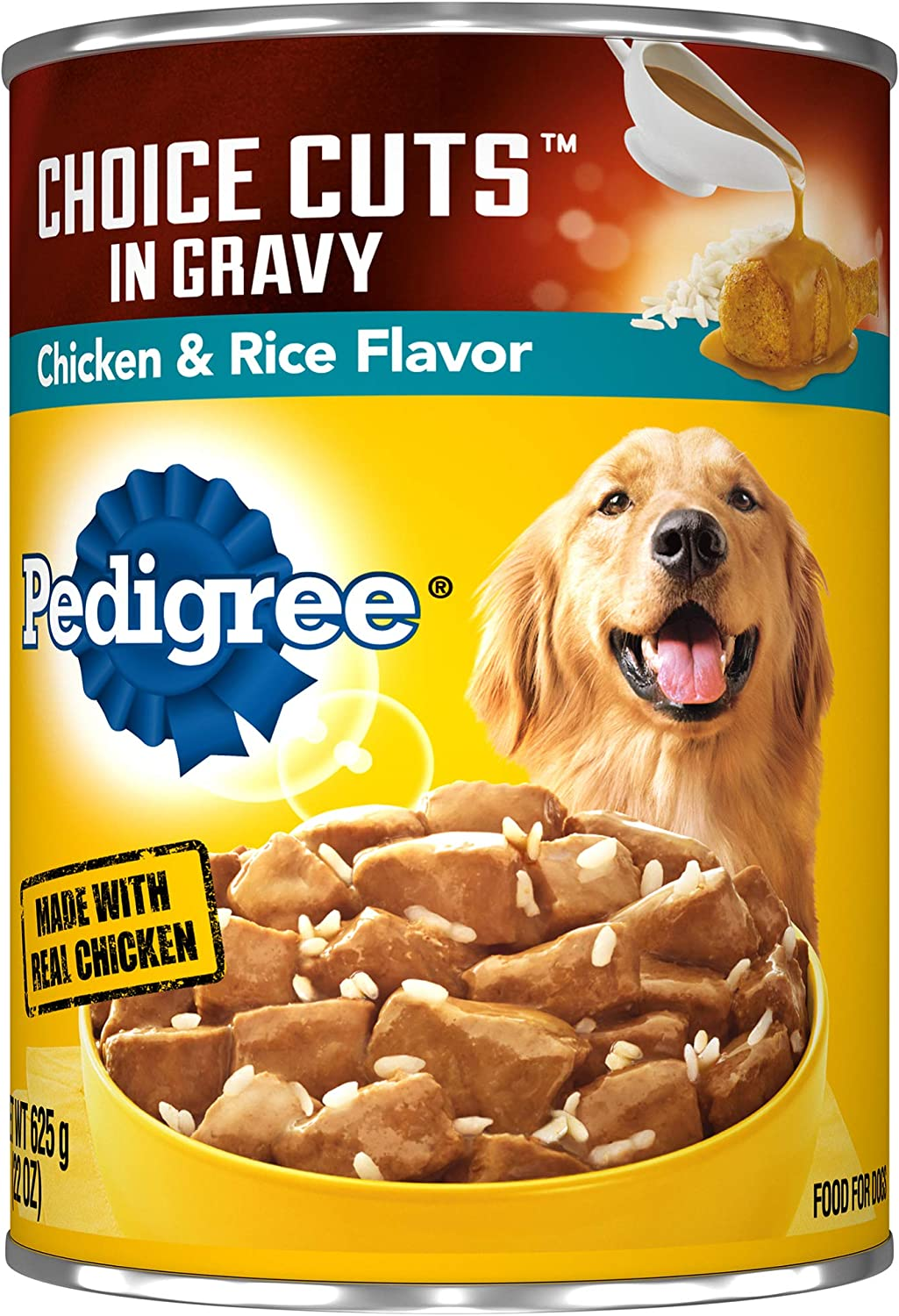Pedigree Choice CUTS in Gravy Adult Canned Wet Dog Food, 22 oz. Cans (Pack of 12)