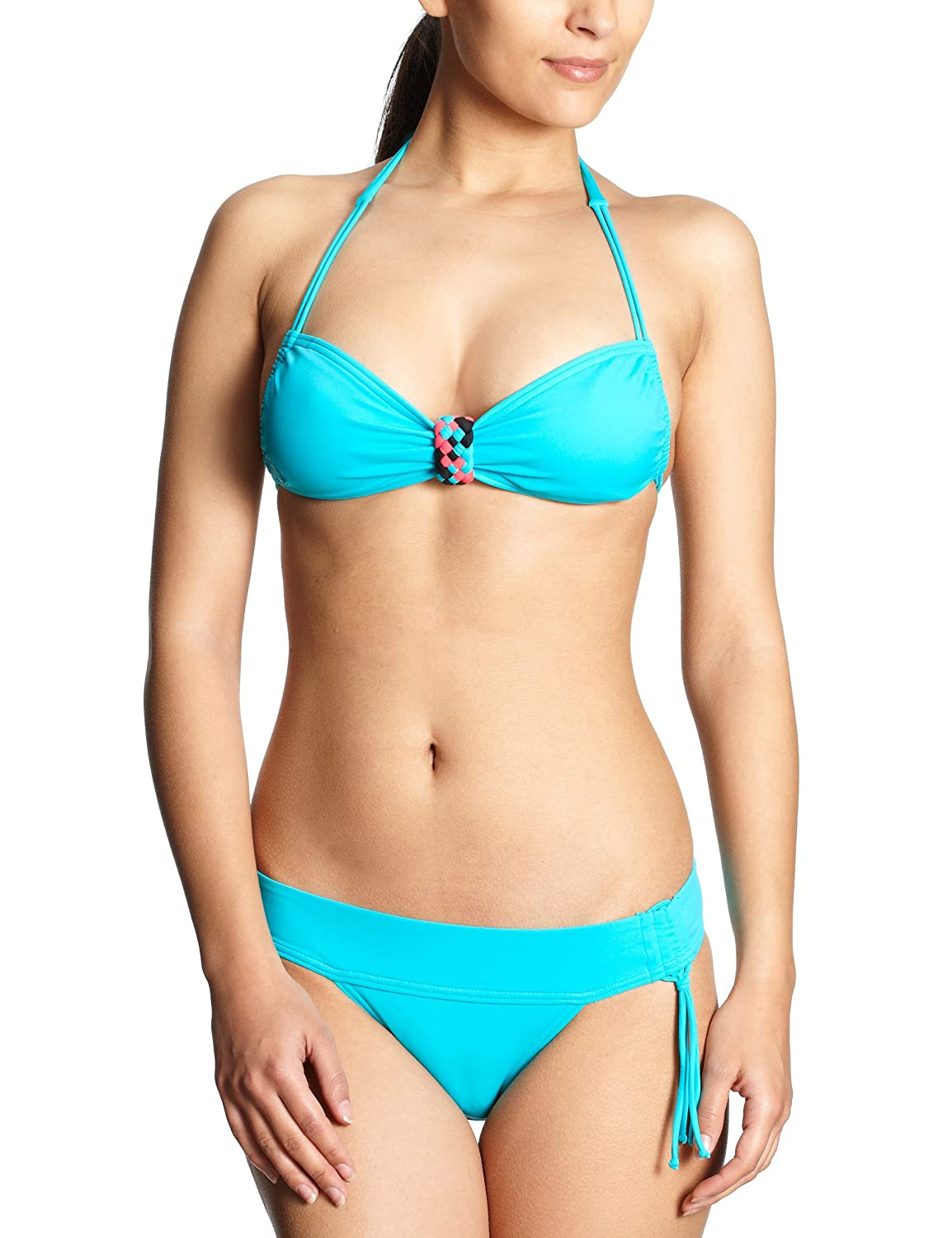 Roxy Damen Bikini Flash Forward 70S Lowrider Tie
