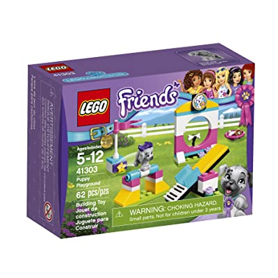 Lego Friends Puppy Playground 41303 Building Kit: Toys & Games