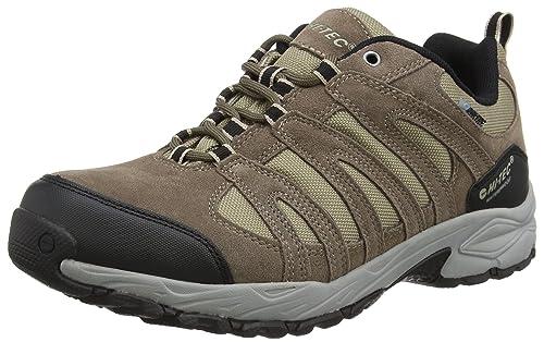HiTec Alto Ii Low Waterproof Men Low Rise Hiking Shoes Brown