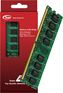 1GB Team High Performance Memory RAM Upgrade Single Stick For Dell Dimension 1100 2400 Series. The Memory Kit comes with Life Time Warranty.