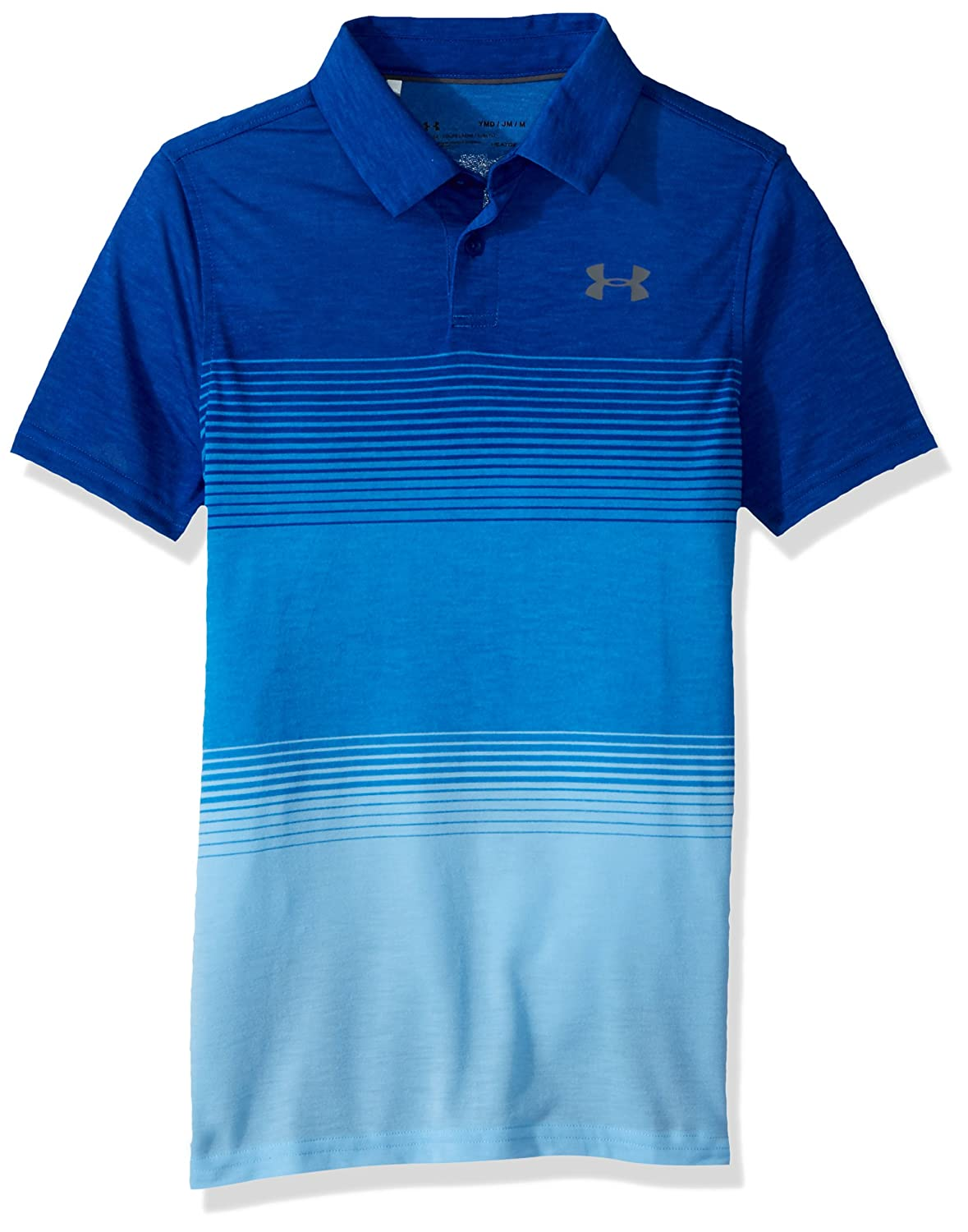 Under Armour Boys' Js Threadborne Gradient Polo Under Armour Apparel 1325653
