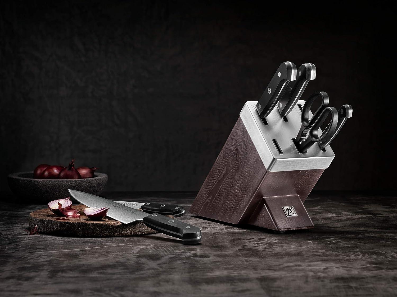Marron Fonc/é Zwilling 36133-000-0 Gourmet Bloc /à Couteaux