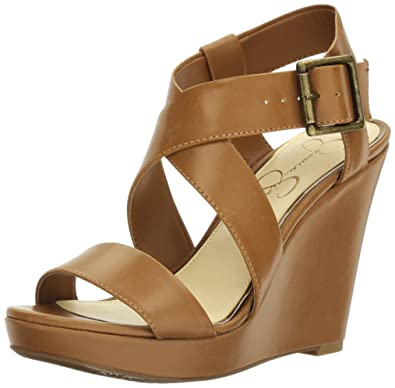06b18469ee2dd Jessica Simpson Women's Joilet Wedge Sandal