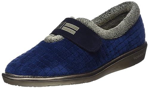 Nordikas Top Line, Zapatillas de Estar por casa para Mujer, Azul (Marino 010), 37 EU: Amazon.es: Zapatos y complementos