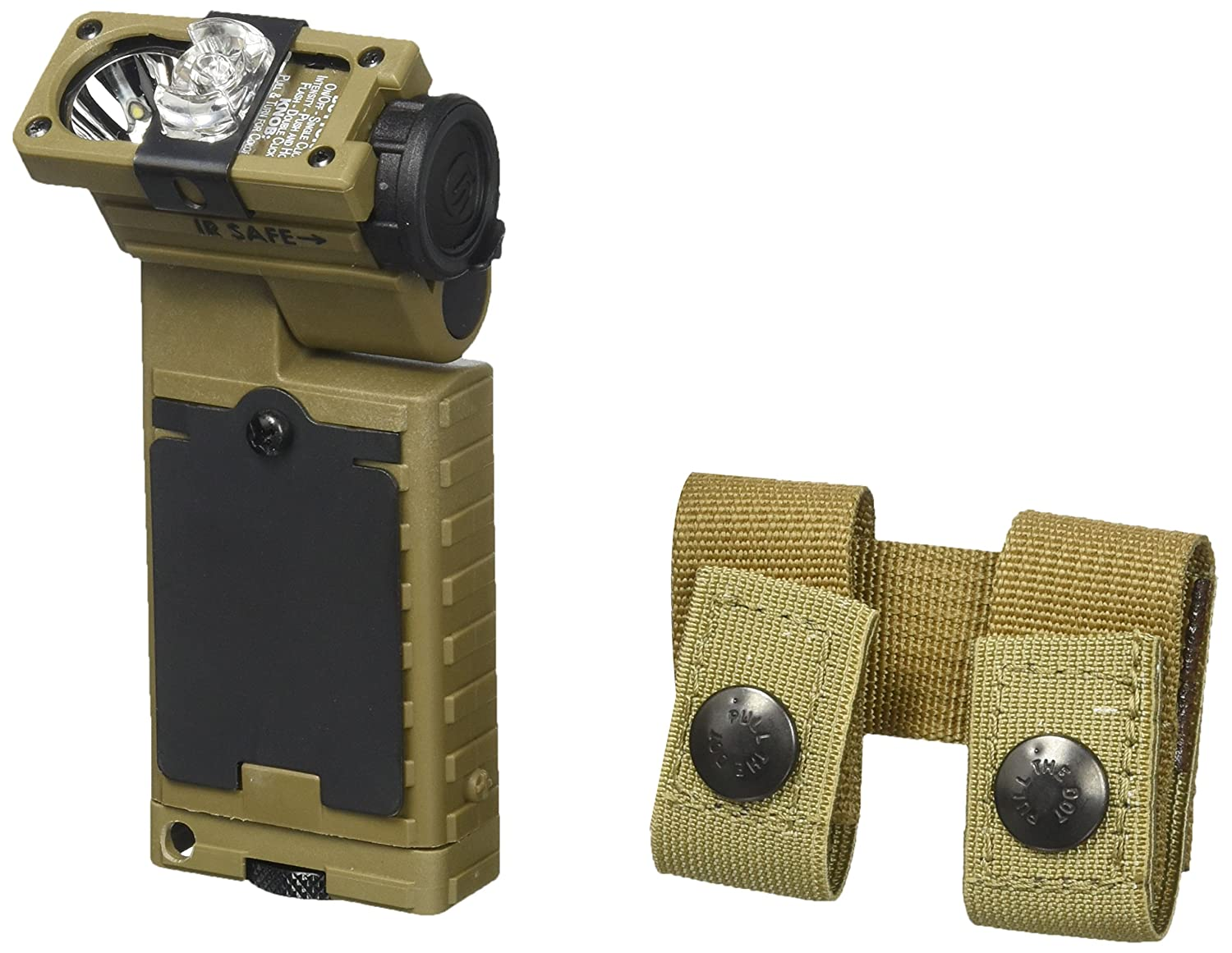 Green Streamlight 14067 Sidewinder Rescue Flashlight with White C4 55 Lumens Blue and IR LEDs