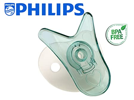 Wee Thumbie - Philips Aqua Preemie Pacifier, Gestational Age Less than 30 weeks, Hospital Binky