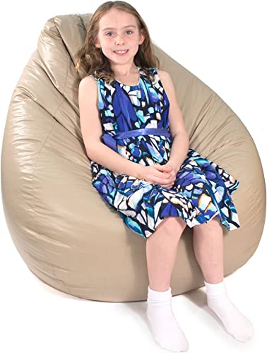 Gold Medal Bean Bags Bean Bag, Large, Cobblestone