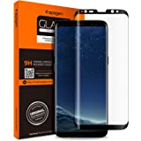 Spigen Galaxy S8 Screen Protector Curved Edge/Tempered Glass/Case Friendly for Samsung Galaxy S8