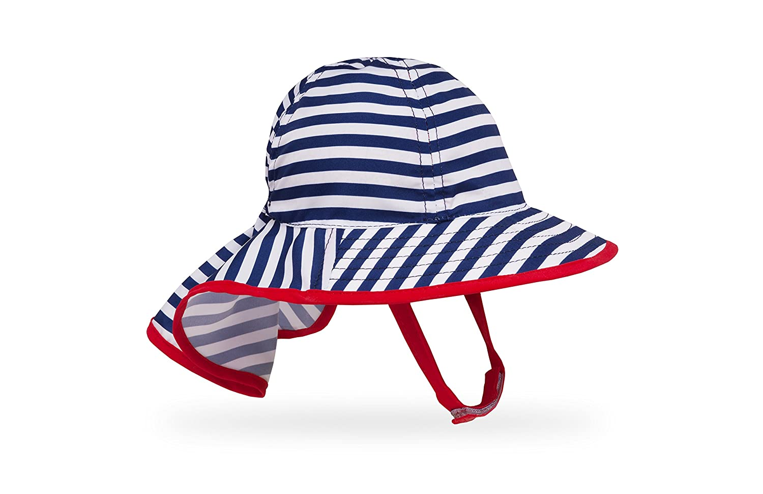 a80cab4d Amazon.com: Sunday Afternoons Infant Sunsprout Hat, Blue/Green Stripe,  Infant: Clothing