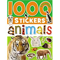 1000 Stickers: Animals