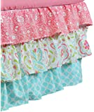 Gia Floral Coral Pink Baby Bedding