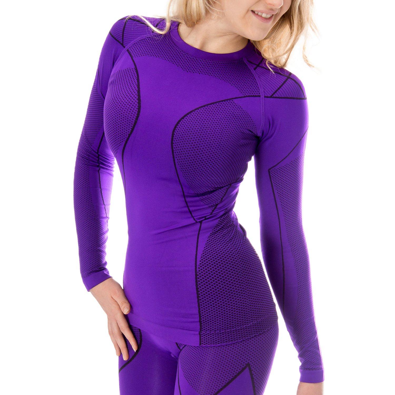 Blacksnake/® Seamless Funktionsunterhemd Damen Thermow/äsche