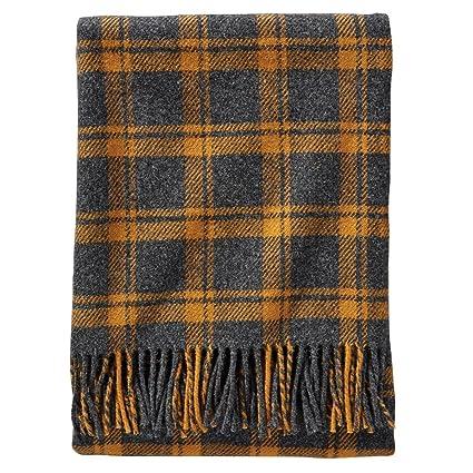 Amazon Pendleton Wool Ecowise Washable Throw Blanket Charcoal Amazing Washable Wool Throw Blanket