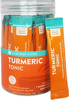 product image for Best On-The-Go Turmeric Golden Milk Stick Packs Boosted with 7 Superfoods (20 Stick Packs)