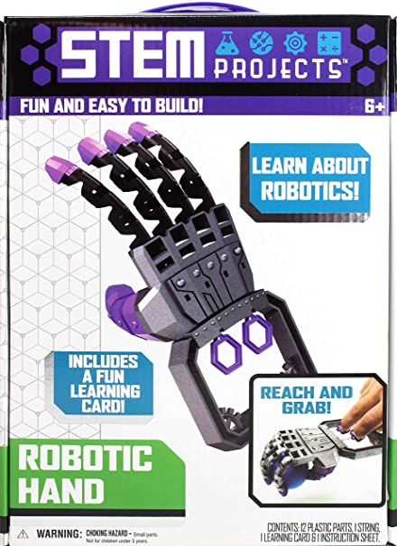 Amazon Com Tara Toys Stem Projects Robotic Hand Toys Games