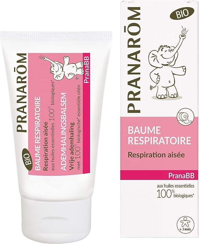 Pranarôm – PRANABB – Bálsamo respiratorio ecológico (Eco) – 40 ml ...