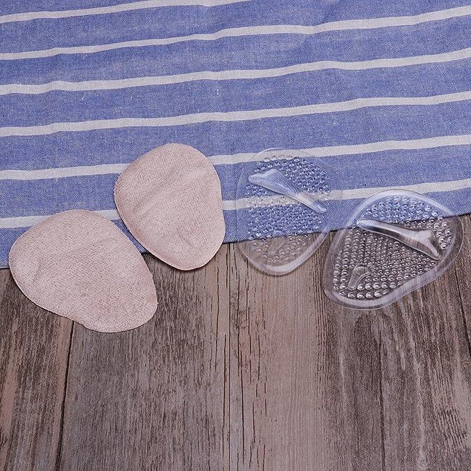 ULTNICE 2 paires /à talons hauts blocs pied Gel Massage Pad avant-pied coussin semelle