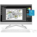 HP 24-inch All-in-One Touchscreen Desktop Computer, AMD Ryzen 5 4500U Processor, 12 GB RAM, 512 GB SSD, Windows 10 Home…