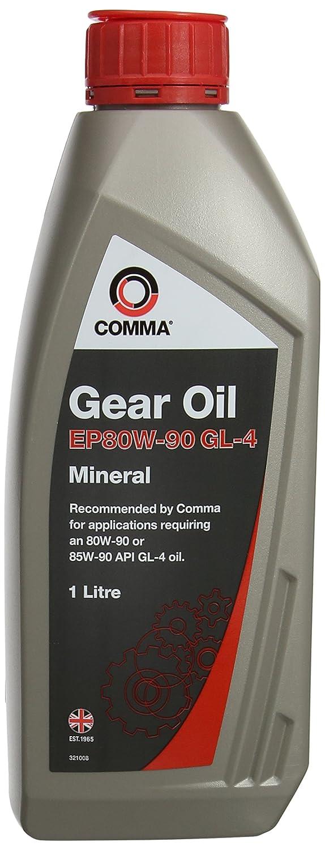 Comma GO41L EP80W-90 1L GL4 Gear Oil Comma Oil & Chemicals Ltd.