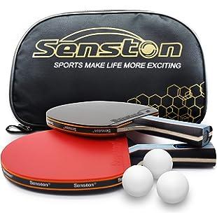 Profesional Raqueta De Tenis De Mesa. Avanzado. Raqueta De Tenis Ping Pong Paddle. Abierto Agarre, Long-Handle Red C 2: Amazon.es: Deportes y aire libre