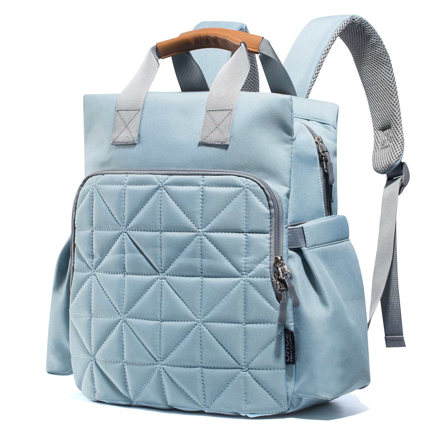 Amazon.com   Diaper Bag Backpack for Mom or Dad with Stroller Straps ... 4f04585385177
