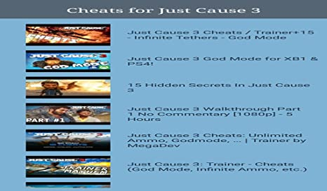 Amazon com: Guide for Just Cause 3: Appstore for Android
