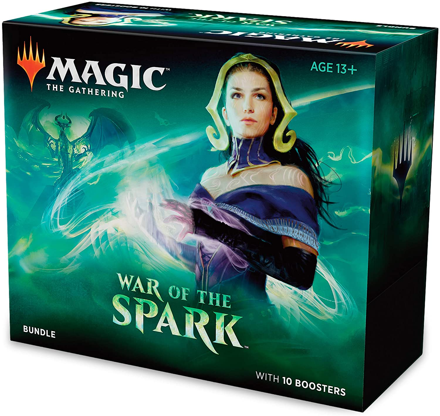 Caja de Refuerzos para Magic: The Gathering War of The Spark: Amazon.es: Juguetes y juegos