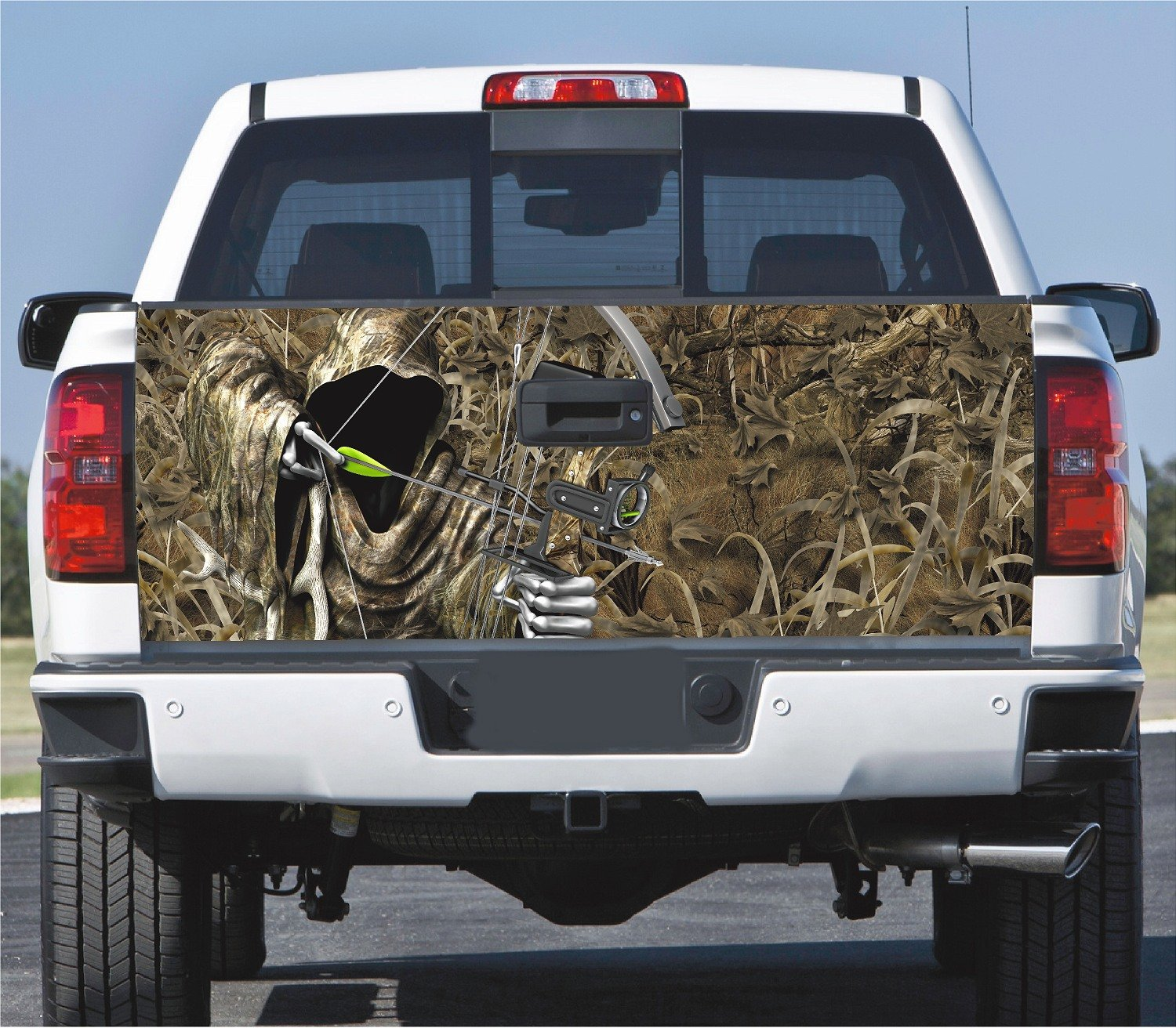 Truck Tailgate Wrap Decal Bow Reaper Grass Camo 3m Cast 1941 Dodge 10 Yr Vinyl Laminated Automotive