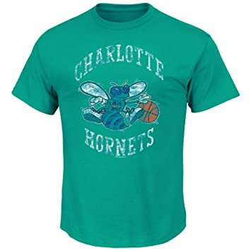 VF NBA Charlotte Hornets Hombres del Puesto De Manga Corta Basic cuello redondo camiseta, hombre