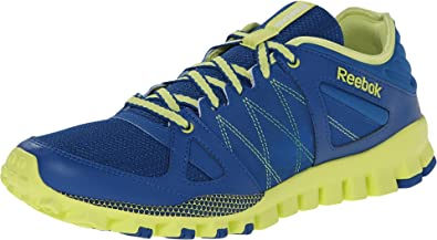 premium selection b5ee9 643fa Reebok Realflex Train RS Mens Running Shoe 7.5 Impact Blue-Green