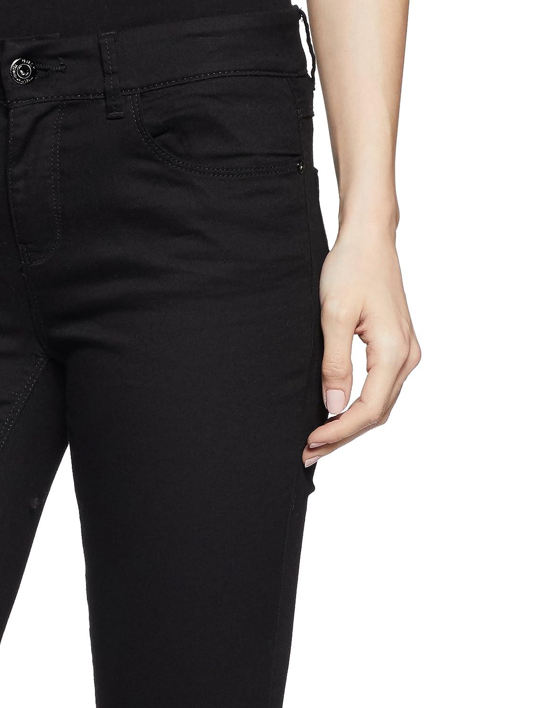 ONLY Damen Hose onlELENA REG Skinny Pant NOOS, Schwarz (Black), 34 L34  (Herstellergröße  34)  Amazon.de  Bekleidung 5d3abc24a3