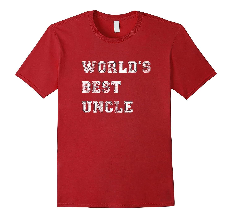 Mens World's best uncle t shirt