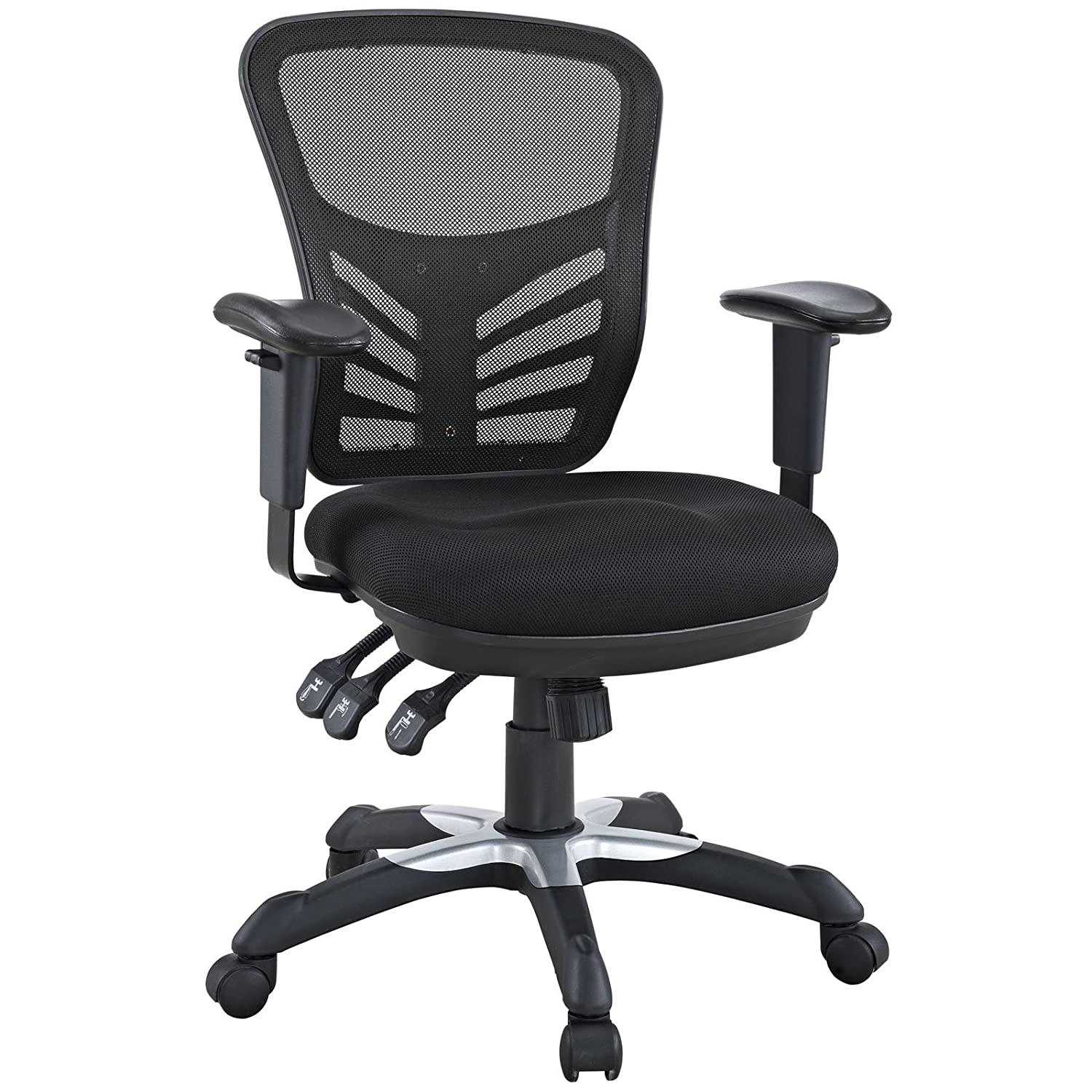 seat mesh office havenside white frame home modway overstock free product bellport edge chair today garden shipping