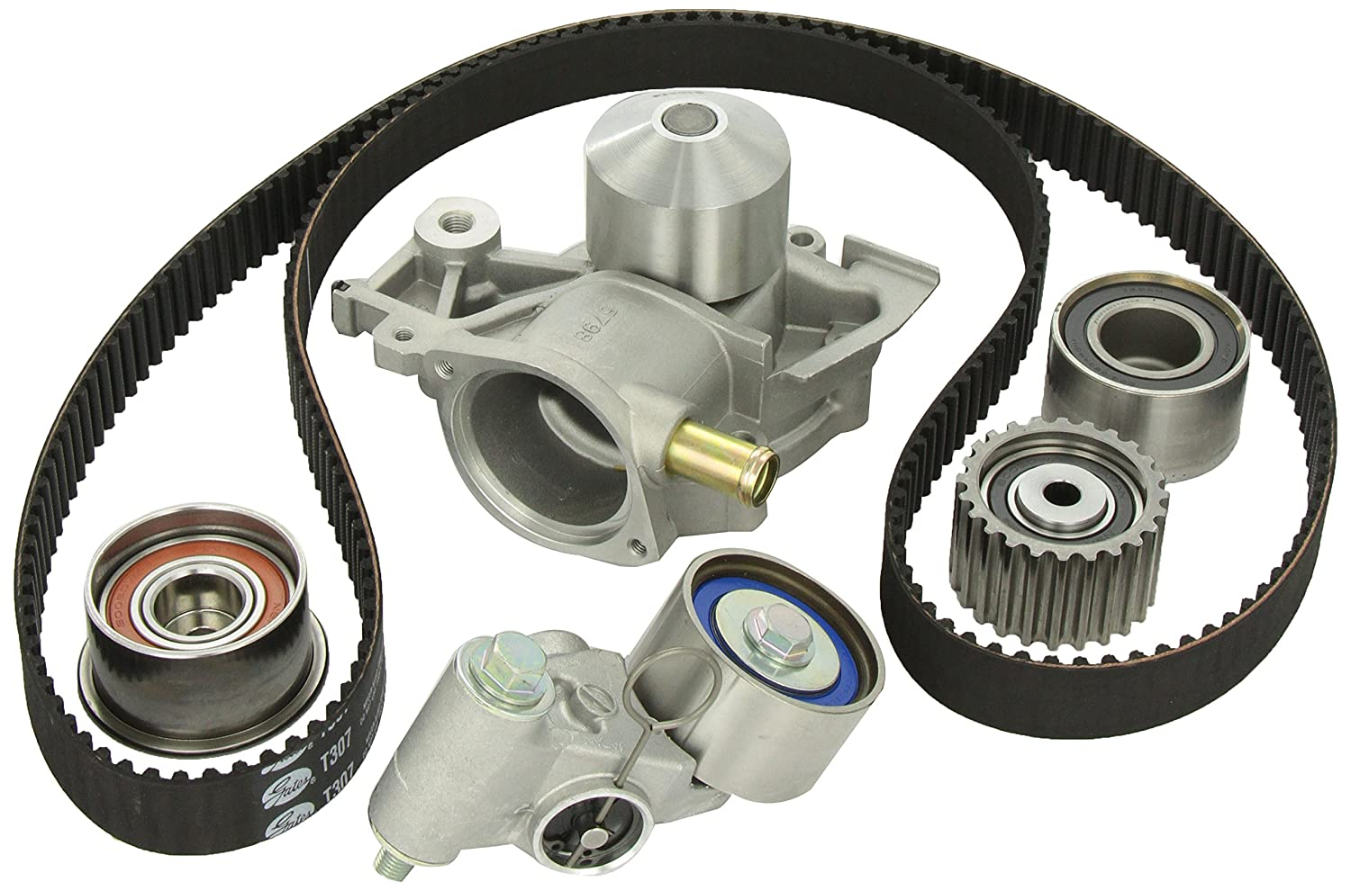 Gates TCKWP307 Engine Timing Belt Kit with Water Pump