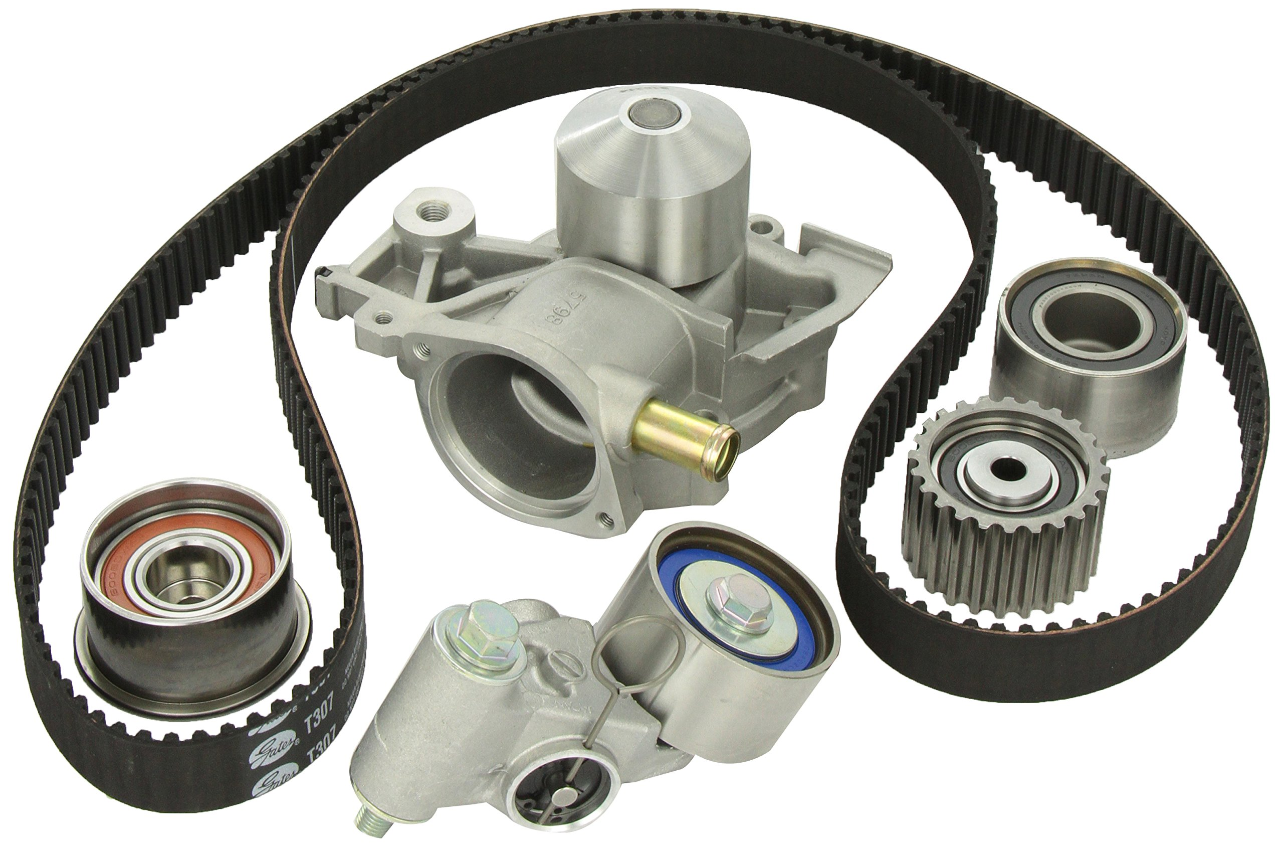 Gates TCKWP307 Engine Timing Belt Kit with Water Pump by Gates