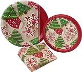 Christmas Cookie Party Supply Pack! Bundle Includes Paper Plates u0026 Napkins for 8 Guests  sc 1 st  Amazon.com & Amazon.com: Elvis Presley Party Plates Luch Dessert Napkins ...