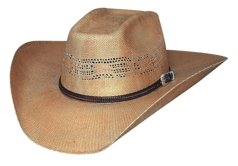 aeb7fc52fe7c5 Details about New Bullhide Hats - WHISKEY RIVER 20X Bangora Straw Western  Cowboy Hat