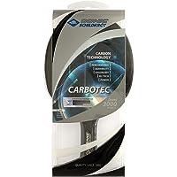 Donic-Schildkröt Tischtennisschläger CarboTec 3000, 50% Carbon, konkav & anatomisch, 2,1 mm Schwamm, ITTF Belag, im Blister