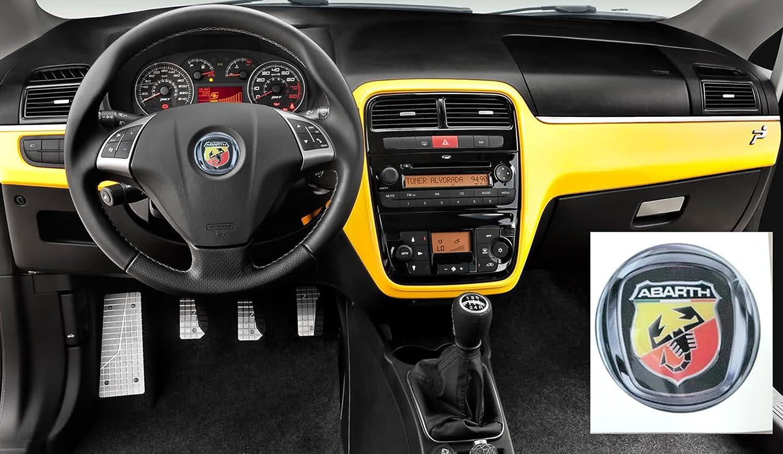 53 adhesivo 3 M Stickers resinato efecto 3d Logo Badge Escudo para volante coche mylife Idea Qubo Croma Sedici tipo: Amazon.es: Coche y moto