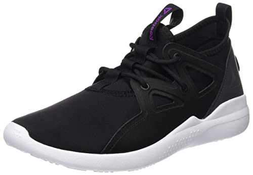 27f476ee217 Reebok Women s Cardio Motion Black Violet White Dance Shoes - 5 UK India