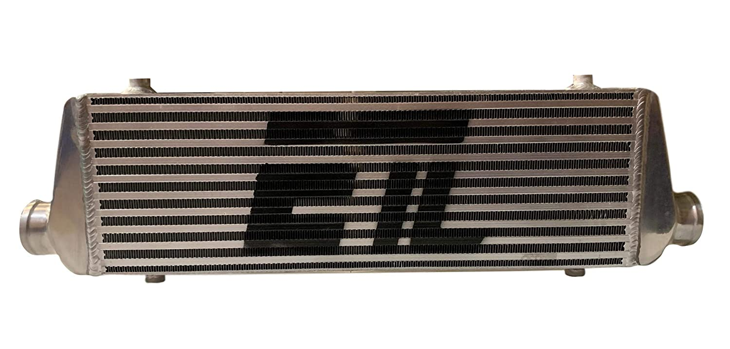 Universal Intercooler for turbo or supercharger 27.30W x 7.08H x 2.56T 2.00 Inlet//Outlet Diameter ETL Performance Products