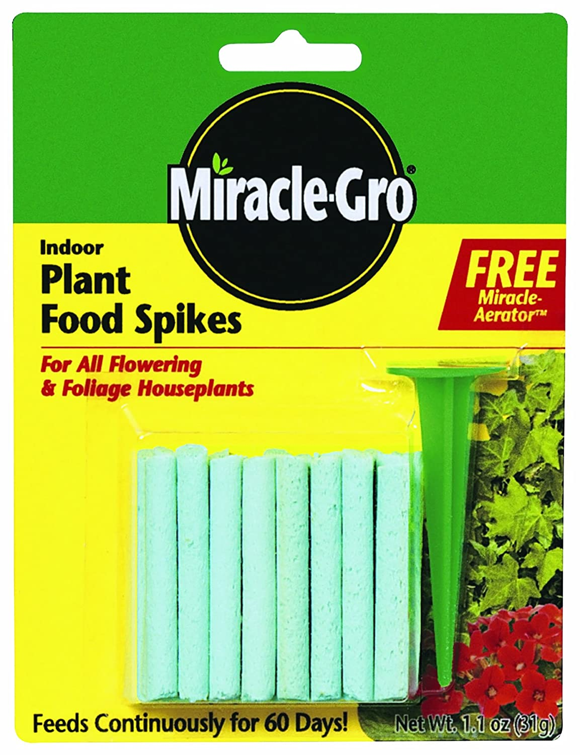 Miracle Gro Indoor Plant Food Spikes Image 1