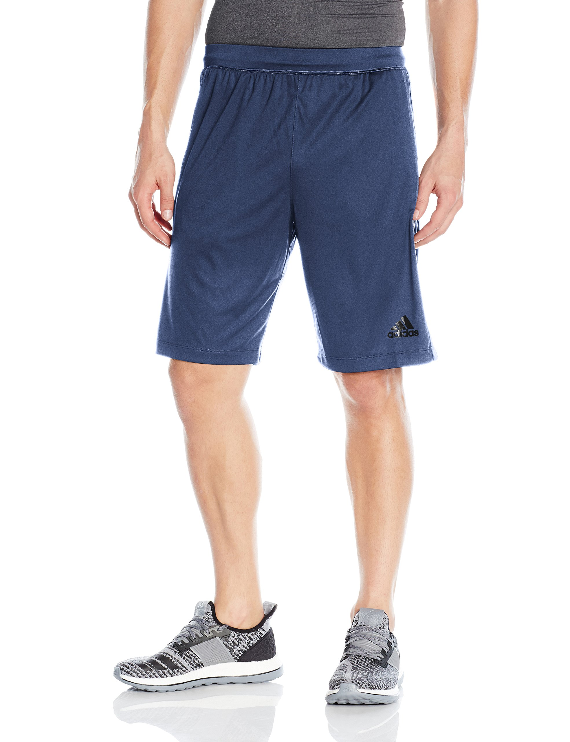 adidas Men's Designed-2-Move 3-Stripe Shorts, Noble